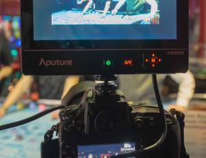Musikvideodreh zu Song «Automat»