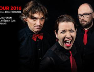 ES BRENNT – WAS TUN? auf «FESTIVAL TOUR 2016»!